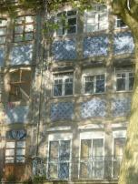 façade avec azulejos